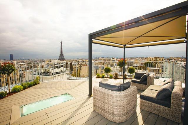Location Rooftop Étoile