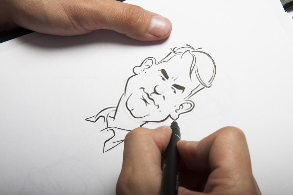 animation CARICATURISTE IPAD