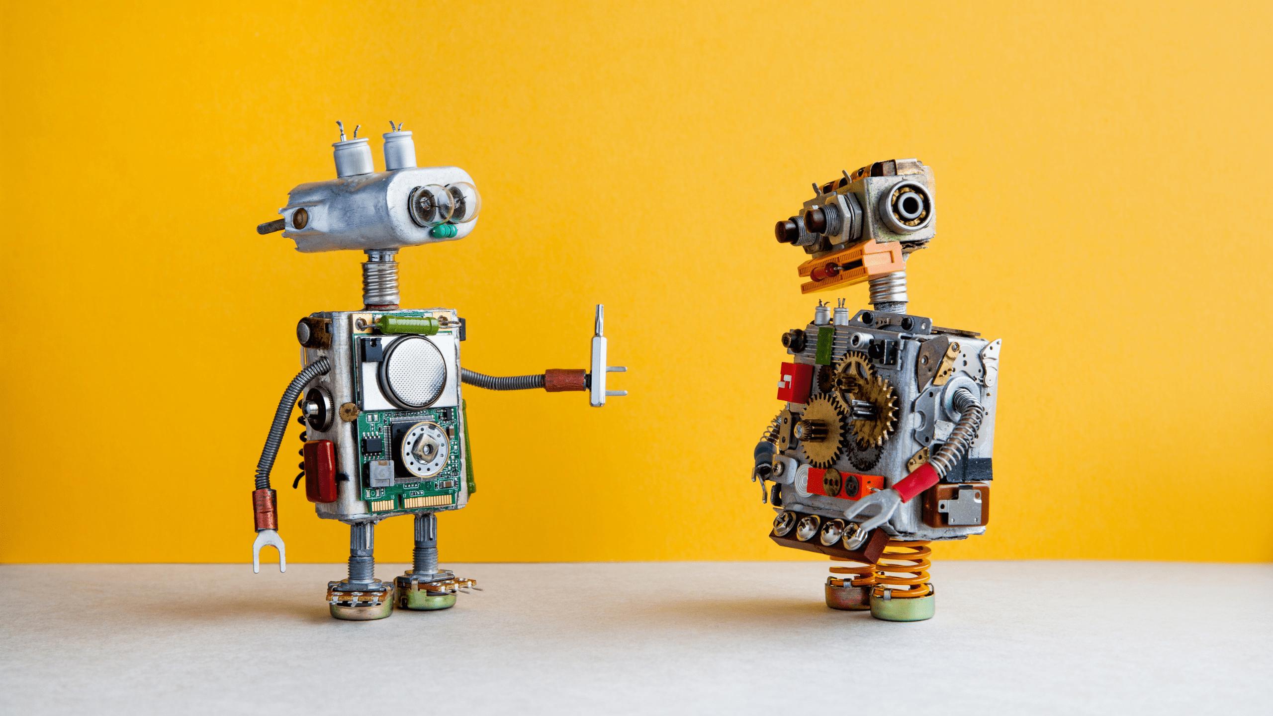 animation entreprise robots